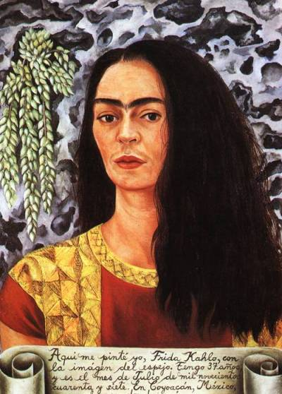 self-portrait-with-loose-hair-1947-xx-private-collection