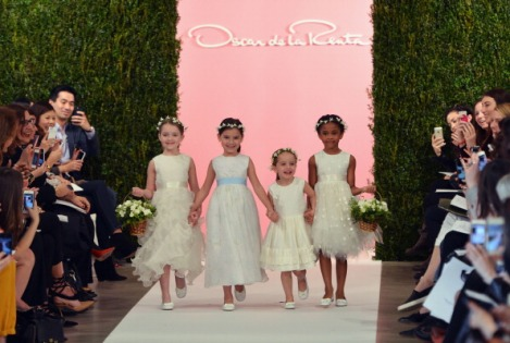 Spring 2015 Bridal Collection - Oscar De La Renta - Show
